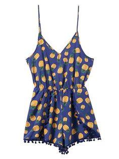 UK Womens Tie Dye Printing 3//4 Sleeve Jumpsuit V Neck Summer Casual Playsuit Top
