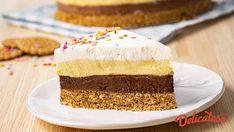 No Cook Desserts, Dessert Recipes, Romanian Desserts, Torte Cake, Vanilla Cake, Nutella, Biscuit, Sweet Tooth, Cheesecake