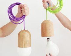 Lampade moderne e minimaliste, il progetto Light Bean