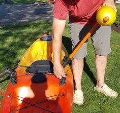adjusting your diy kayak outriggers