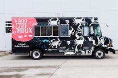 Boo Coo Roux Food Truck Branding & Truck Wrap Design on Behance