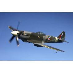 Supermarine Spitfire Mk Xviii fighter warbird Canvas Art - Daniel KarlssonStocktrek Images x Ww2 Fighter Planes, Fighter Aircraft, Fighter Jets, Ww2 Planes, Ww2 Aircraft, Military Aircraft, Aircraft Carrier, South African Air Force, Air Tattoo