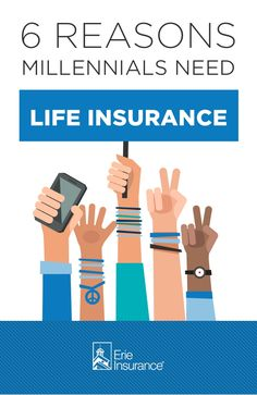 The road to financial independence is marked with lots of milestones: Making a budget. Buying your first car. Renting your first apartment. Here's something else to add to the list: Getting life insurance. It's surprisingly affordable when you're young and healthy, and can help provide peace of mind about things like final expenses. The experts at Erie Insurance explain why millennials should consider getting life insurance.