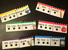 Flip and Read Sight Word Sentences