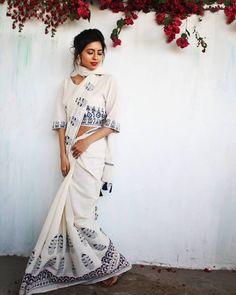Chidiyaa - Handcrafted clothing in traditional block prints and weaves  Chidiyaa collections, mul saree, Block printed sarees, sarees, tikli.in, tikliwali, tikli fashion, tikli blog, tikli fashion blog, tikli shopping destination, tikli event, tikli.in collections