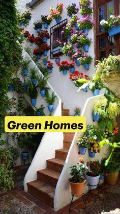 Garden Paths, Garden Bridge, Garden Art, Garden Landscaping, Garden Stairs, Dream Garden, Garden Inspiration, Beautiful Gardens, Beautiful Flowers