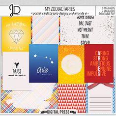 My Zodiac | Aries - Pocket Cards