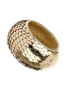 Gold Scale Bangle  Was $25.00 Now $18.00 only!