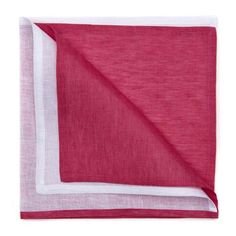 Resort 2-Tone Napkin -   S/4 Hot Pink