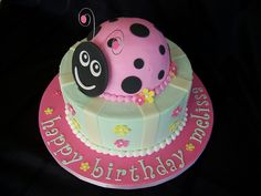 Pink Ladybug Cake | Flickr - Photo Sharing!