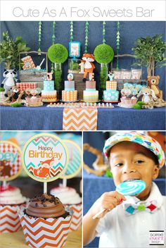 | Cute As A Fox Party   GIVEAWAY | http://soiree-eventdesign.com