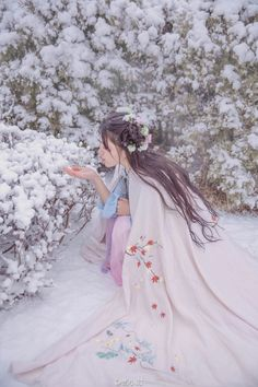 (Lady Fusang searches for the Summer King.)