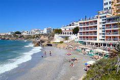 Playa de La Caletilla, Nerja - Costa del Sol (Espagne)