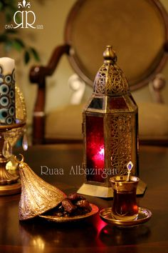 Ramadan by Ruaa Rose .....رمضان كريم Coffee Time, Tea Time, Ikea Candles, Ramadan Decorations, Candle Holders, Rose, Kids, Crafts, Young Children