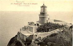 Famous Lighthouses | Cap Sant Sebastià (Cabo de San Sebastian)