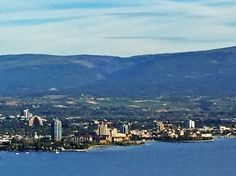 View of downtown Kelowna from West Kelowna Desert Climate, Selling Real Estate, My Town, British Columbia, Babe, Canada, Spaces, World, Outdoor