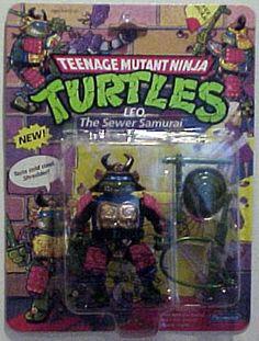 Teenage Mutant Ninja Turtles Action Figures: Leo, the Sewer Samurai