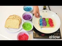 Learn to make your dreams come true with this magical, yet easy rainbow grilled cheese recipe. Mange!