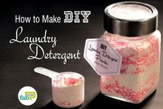 How to Make DIY Laundry Detergent (Powder, Liquid and Cubes), Some people are always on a hunt for a new DIY project. We've got an easy one for you, one that's forever going to change the way you do your laun. Best Natural Laundry Detergent, Powder Laundry Detergent, Homemade Laundry Detergent, Natural Cleaning Solutions, Natural Cleaning Products, How To Make Diy, Cubes, Change, People