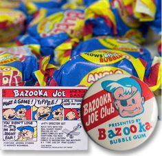 Memories of a Boy Growing Up in 1970′s UK In the states too! Always had some bazooka joe bubble gum.