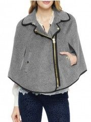Batwing With Pockets Trendy Overcoats