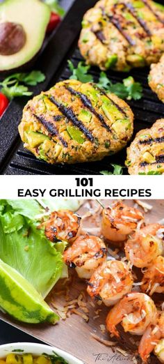 The ultimate group of grilling recipes is here! Now pour a cocktail, fire up that grill and settle in for a delicious meal! Easy Asian Recipes, Fun Easy Recipes, Best Chicken Recipes, Best Dessert Recipes, Healthy Dinner Recipes, Mexican Food Recipes, Easy Meals, Ethnic Recipes, Fall Recipes