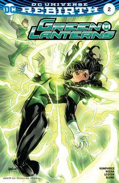 Green Lanterns #2 Variant - Emanuela Lupacchino