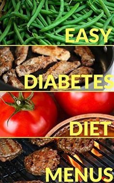 Easy Diabetes Diet Menus & Grocery Shopping Guide-Menu Me... www.amazon.com/...