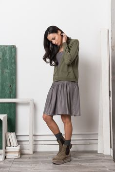 Momoé aw15 outfit #becauseweareknitwear