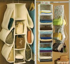 The Magic of Tidying Up: The Japanese Art of Decluttering and Organizing 9 tips that really work. Diy Bag Organiser, Purse Organization, Handbag Storage, Diy Handbag, Diy Crafts Hacks, Home Crafts, Inovative Ideas, Shoe Drawer, Build A Closet