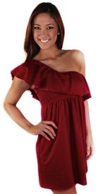 Maroon game day dresses