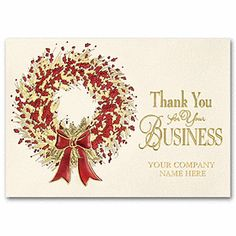 16 best thank you for your business cards images on pinterest grateful sentiment business holiday card business thank you cards deluxe colourmoves