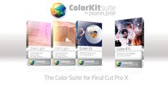 ColorKit Suite | Final cut pro plugins & video effects - CrumplePop FCP effects - Great effects plugins for video editing.