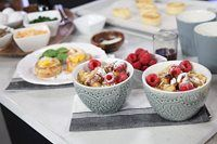 Chef Lynn Crawford inspires us with her delicious meals for a relaxing and decadent mid-morning meal. Spinach and Mushroom Baked Egg Galette eggs are a match made in heaven, but toss in puff pastry, cheese and bacon? Mug Recipes, Brunch Recipes, Fish Recipes, Cooking Recipes, Yummy Recipes, Breakfast Dishes, Breakfast Recipes, Breakfast Ideas, Marilyn Denis Recipes