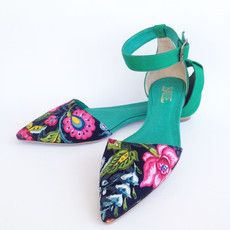 Adelia Green - Baille Shoes
