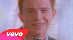 Rick Astley - Never Gonna Give You Up. I STILL LOVE THIS SONG!! I MEAN LUUUURVE!! Call it cheezy, call it whatever you want - this is an awesome song in my book :))))