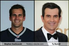 Stephen Gostkowski Totally Looks Like Ty Burrell... DAY IS MADE.