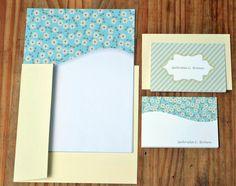 Papel de carta e cartões sociais #papelariapersonalizada #stationary #blocopersonalizado #dayusepapelaria