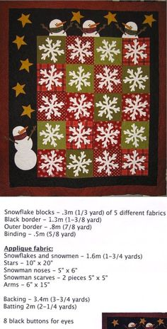 Flaky Friends quilt pattern ericas