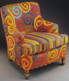 felted armchair by Nicole Chazaud Telaar