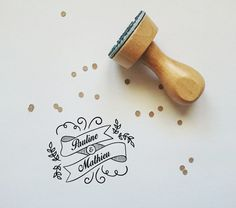 Etsy - Shop for handmade, vintage, custom, and unique gifts for everyone Tampons, Wedding Cards, Flora, Happy Birthday, Diy, Place Card Holders, Instagram Posts, France, Logos