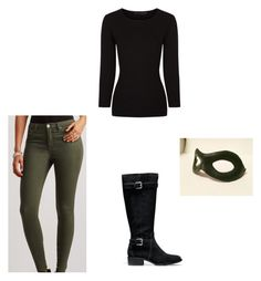 """""""Female Warrior 3"""" by lydigrace on Polyvore featuring Aéropostale, Alexander Wang, Cole Haan and Versace"""