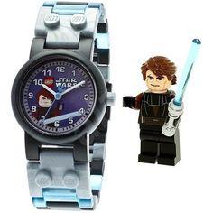 LEGO Star Wars - Montre Anakin Skywalker - Garçon et Fille - A partir de 6 ans - Livré à l'unité