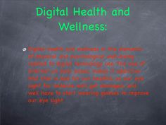 Digital Citizenship, Health And Wellbeing, Psychology, Health Care, Healthy, Health, Psicologia