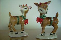 I love vintage deer