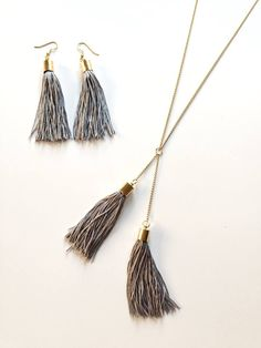 Tassel Necklace, Accessories, Jewelry, Jewellery Making, Jewerly, Jewelery, Jewels, Jewlery, Fine Jewelry