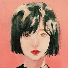 "4,573 Likes, 15 Comments - Yuriy Strigul (@onyxkawai) on Instagram: ""나 그리기 // drawn by @n0ma_ artist from South Korea  #絵 #イラスト #アーティスト #アート #お絵かき #油絵 #デジタル #スケッチ…"""