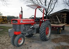 180 MF tricycle tractor | Massey Ferguson 180 Model - a photo on Flickriver
