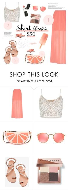 """Happily"" by cafejulia ❤ liked on Polyvore featuring Yumi, New Look, Kate Spade, Ray-Ban, Elina Linardaki, Bobbi Brown Cosmetics and Sigma Beauty"