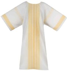 GOLD STRIPE Dalmatic with or without Understole
